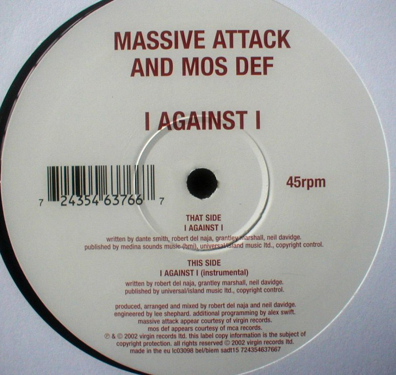 Блейд 2  i against i Mos Def And Massive Attack -